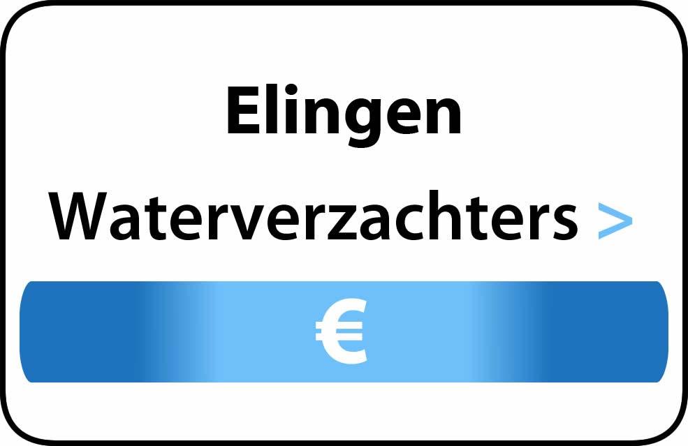 Waterverzachter in de buurt van Elingen