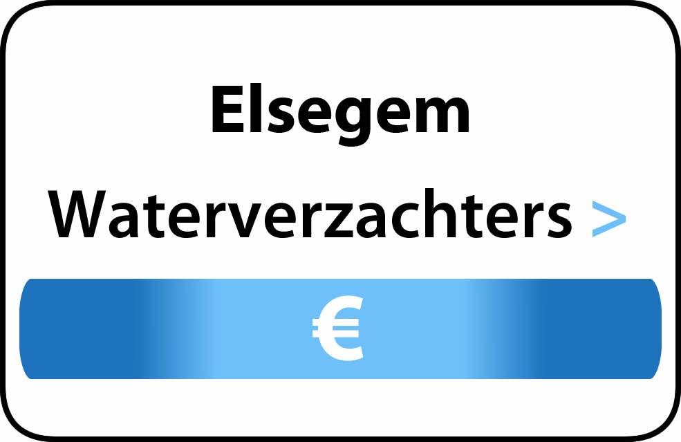 Waterverzachter in de buurt van Elsegem