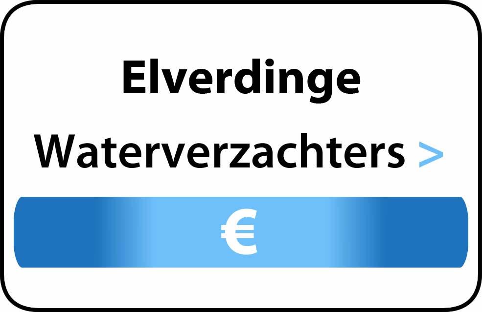Waterverzachter in de buurt van Elverdinge