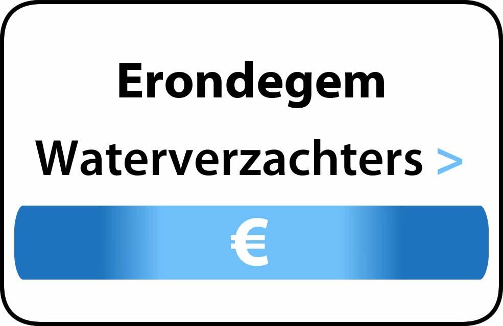 Waterverzachter in de buurt van Erondegem