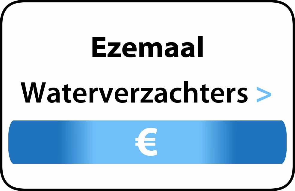 Waterverzachter in de buurt van Ezemaal