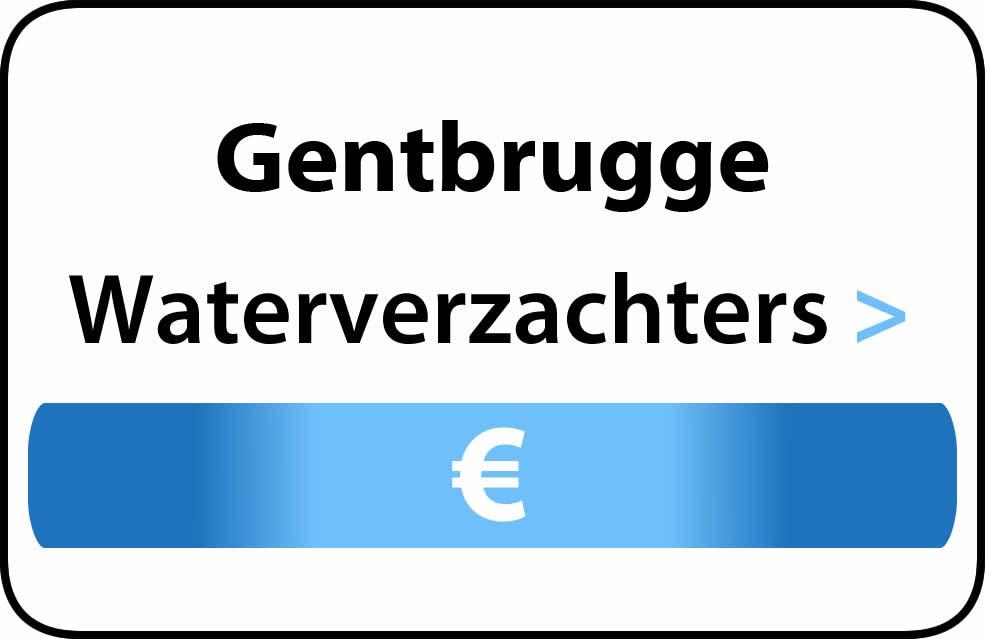 Waterverzachter in de buurt van Gentbrugge