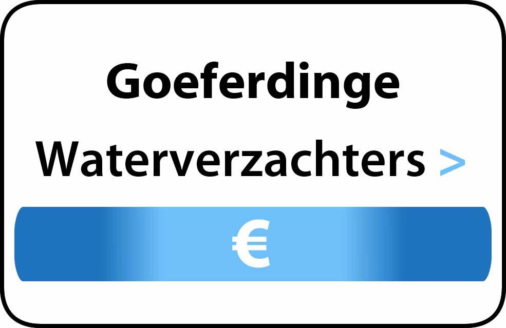 Waterverzachter in de buurt van Goeferdinge