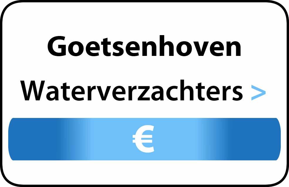 Waterverzachter in de buurt van Goetsenhoven