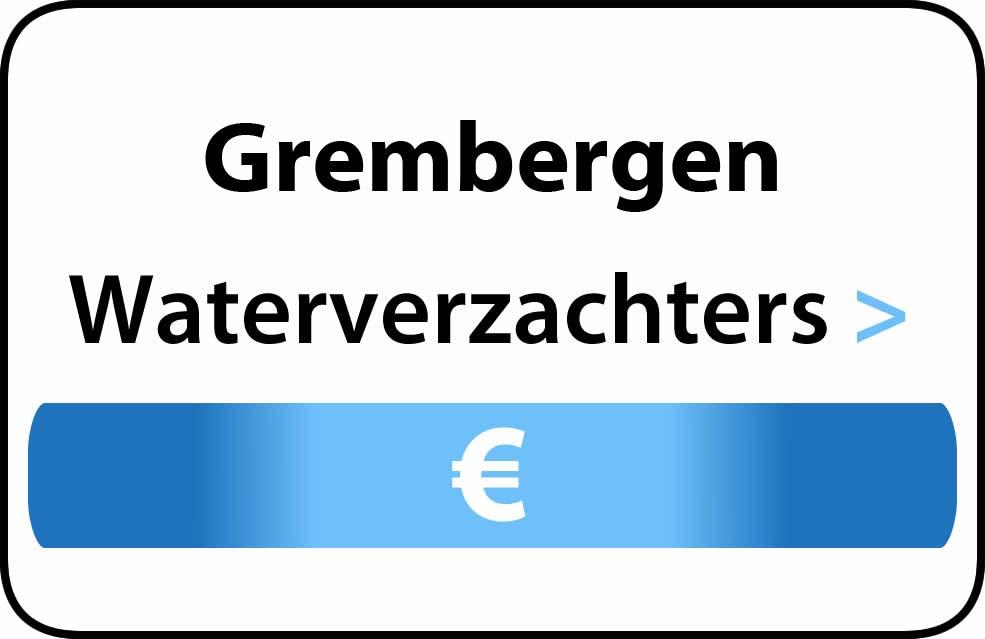 Waterverzachter in de buurt van Grembergen