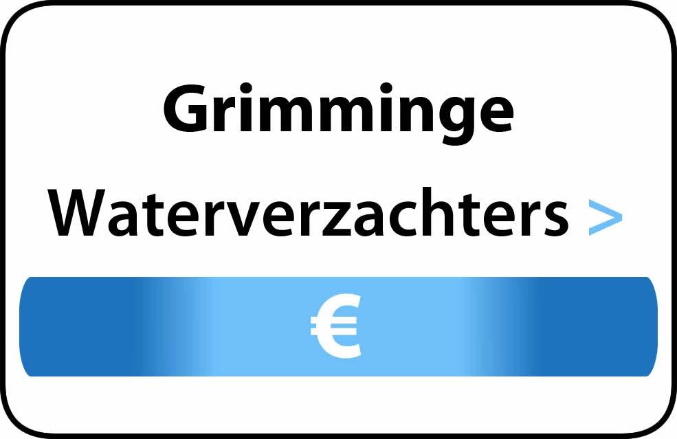 Waterverzachter in de buurt van Grimminge