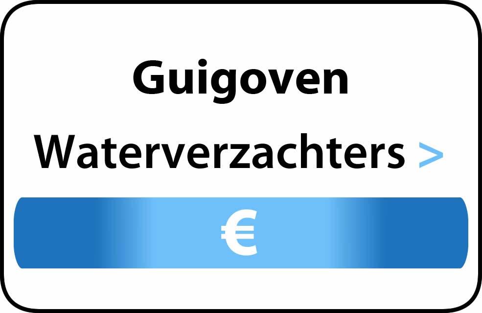 Waterverzachter in de buurt van Guigoven