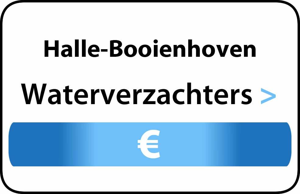 Waterverzachter in de buurt van Halle-Booienhoven