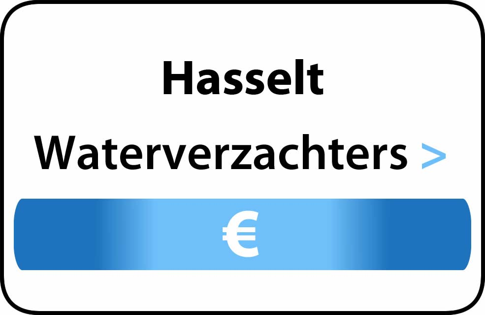 Waterverzachter in de buurt van Hasselt