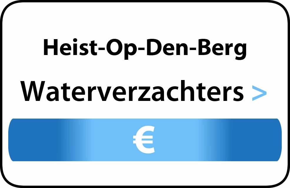 Waterverzachter in de buurt van Heist-Op-Den-Berg