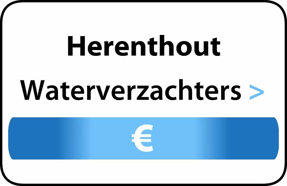 Waterverzachter in de buurt van Herenthout
