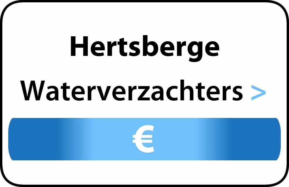 Waterverzachter in de buurt van Hertsberge