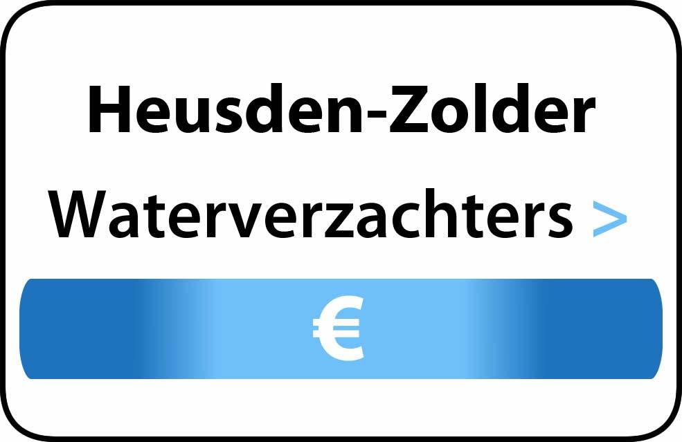 Waterverzachter in de buurt van Heusden-Zolder