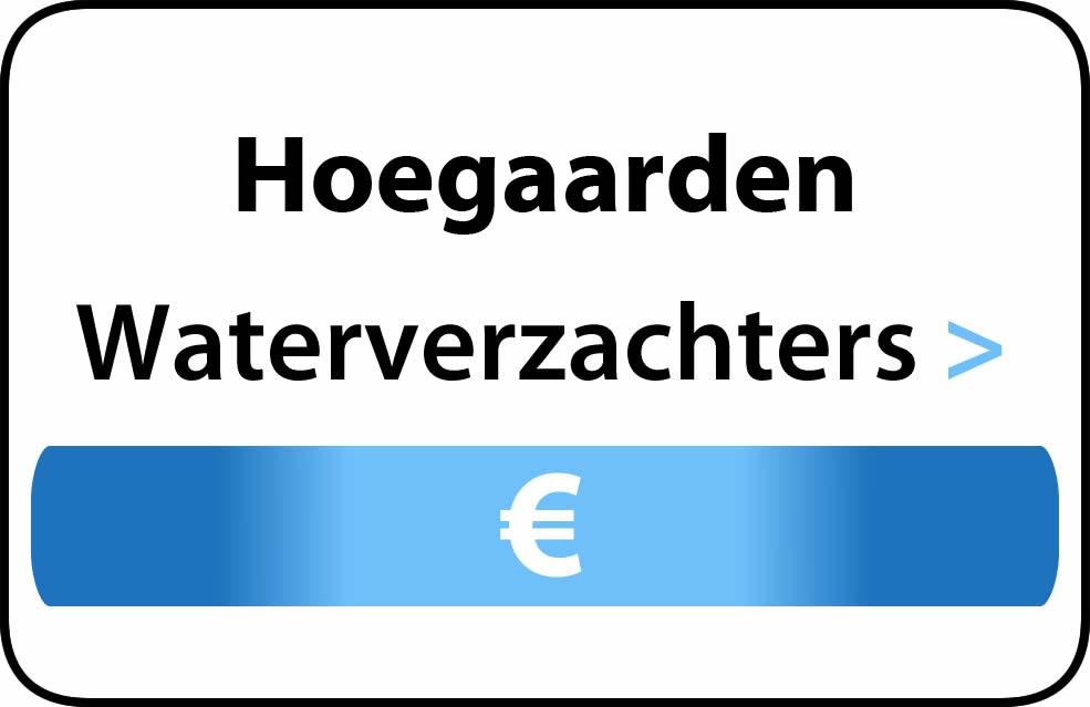 Waterverzachter in de buurt van Hoegaarden