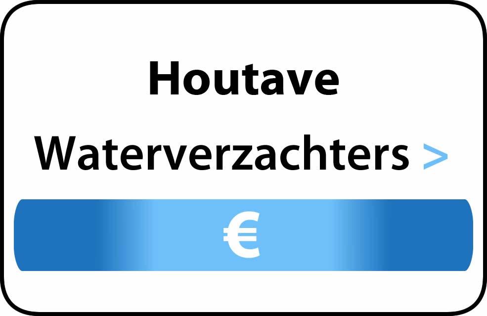 Waterverzachter in de buurt van Houtave