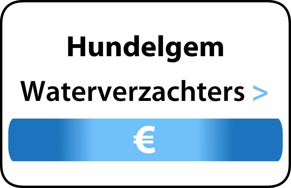 Waterverzachter in de buurt van Hundelgem