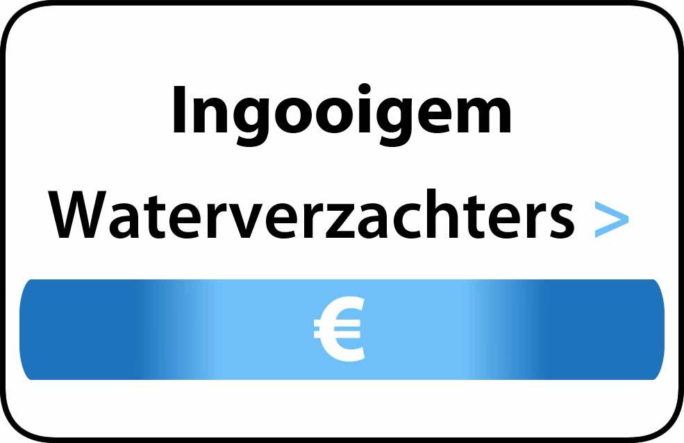 Waterverzachter in de buurt van Ingooigem
