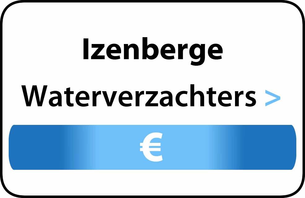 Waterverzachter in de buurt van Izenberge