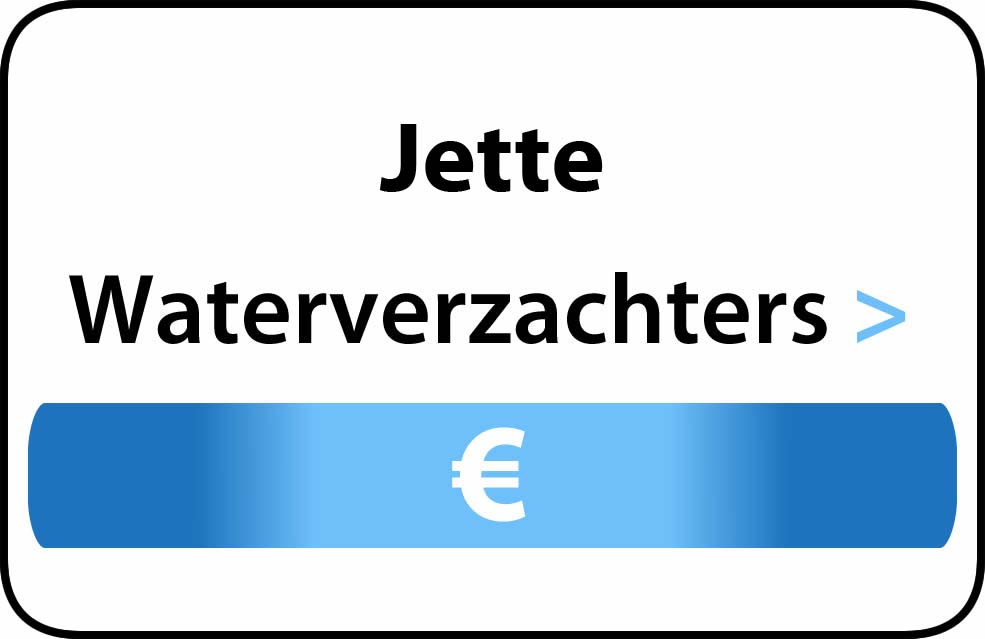 Waterverzachter in de buurt van Jette