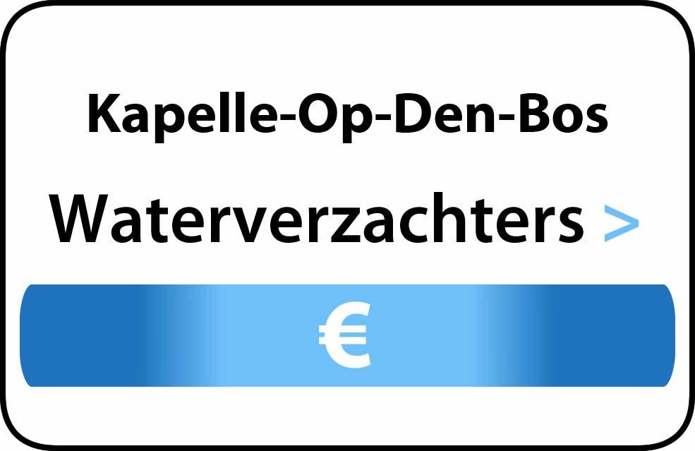 Waterverzachter in de buurt van Kapelle-Op-Den-Bos