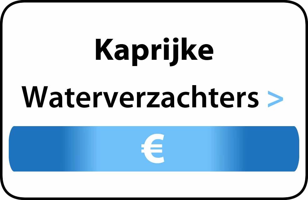 Waterverzachter in de buurt van Kaprijke