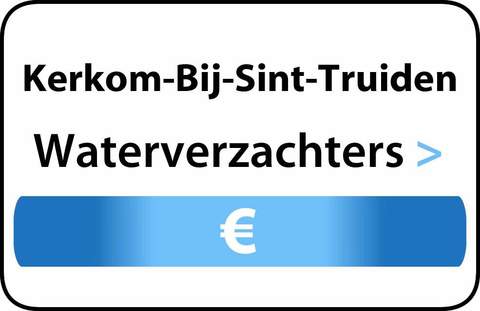 Waterverzachter in de buurt van Kerkom-Bij-Sint-Truiden