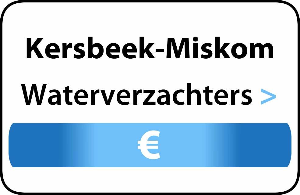 Waterverzachter in de buurt van Kersbeek-Miskom