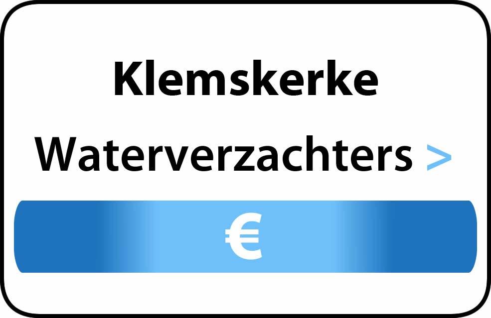 Waterverzachter in de buurt van Klemskerke