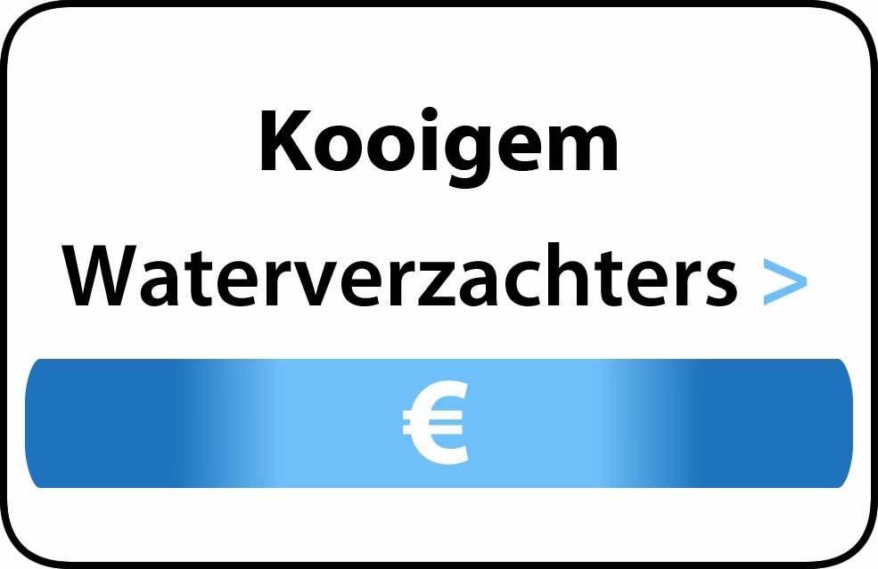 Waterverzachter in de buurt van Kooigem