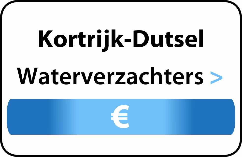 Waterverzachter in de buurt van Kortrijk-Dutsel