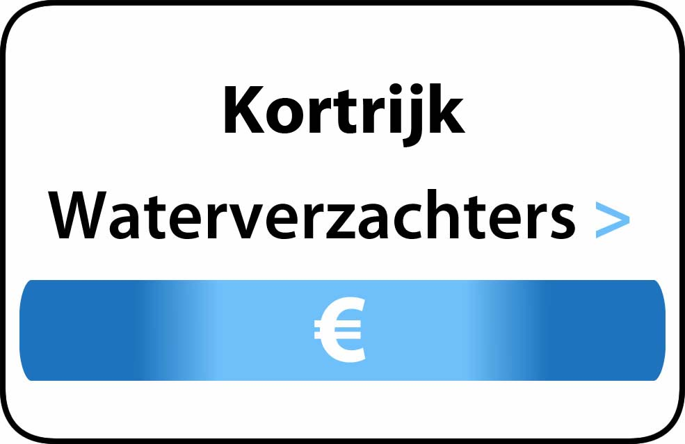 Waterverzachter in de buurt van Kortrijk