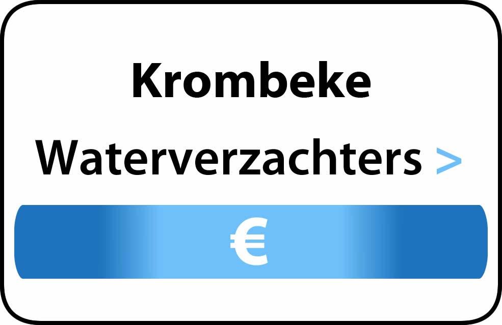 Waterverzachter in de buurt van Krombeke