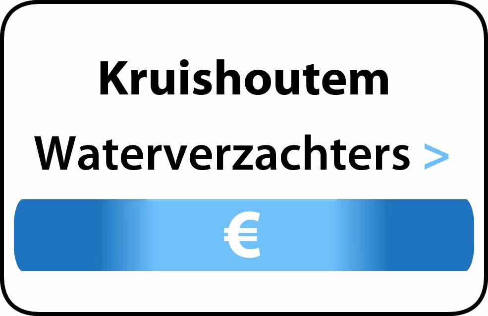 Waterverzachter in de buurt van Kruishoutem