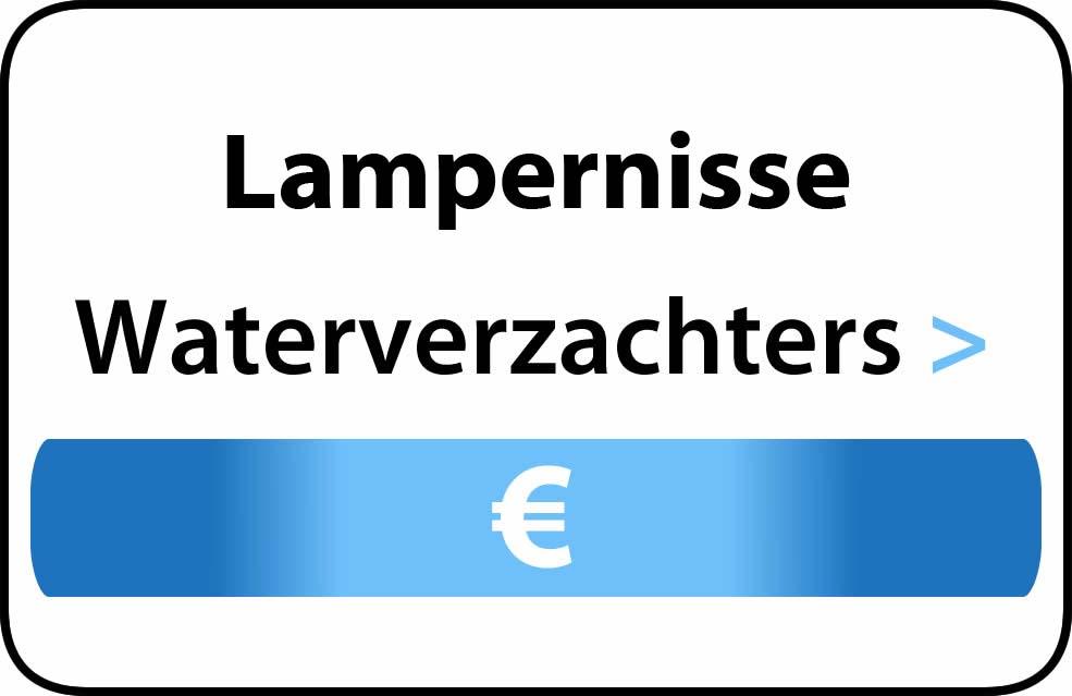 Waterverzachter in de buurt van Lampernisse