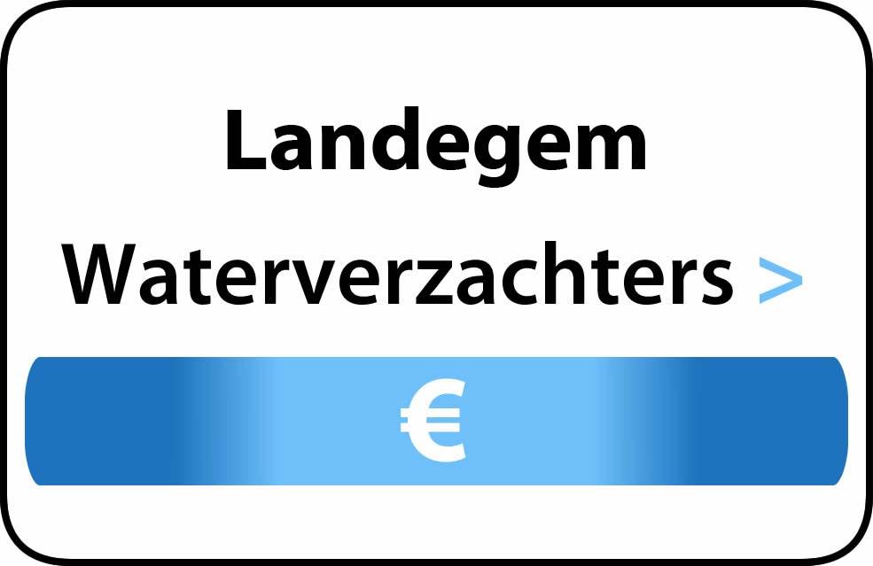 Waterverzachter in de buurt van Landegem