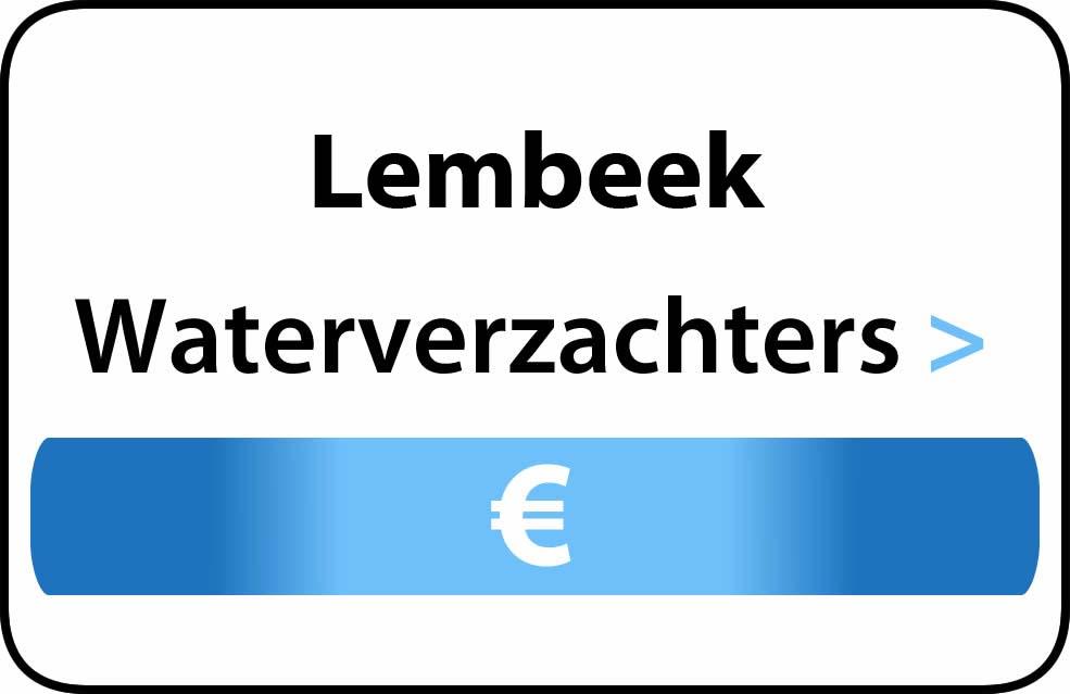 Waterverzachter in de buurt van Lembeek