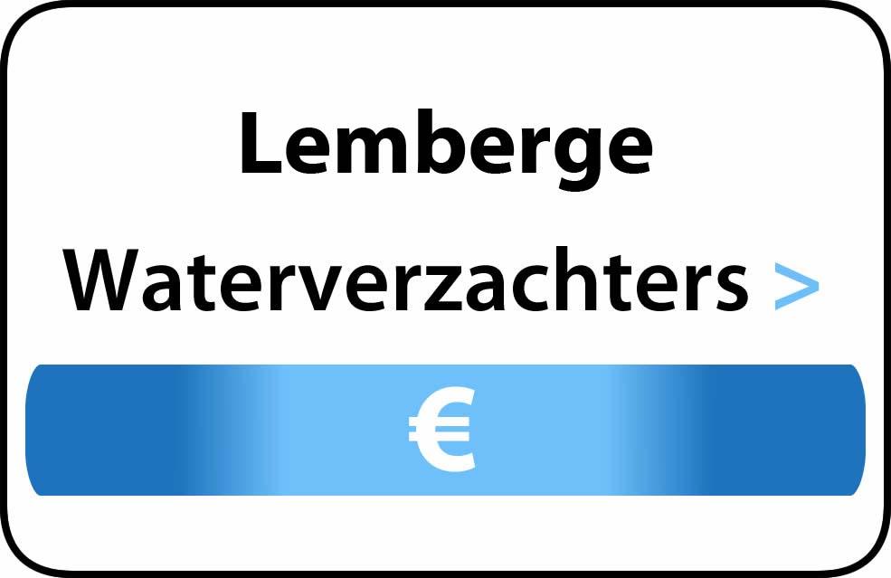 Waterverzachter in de buurt van Lemberge