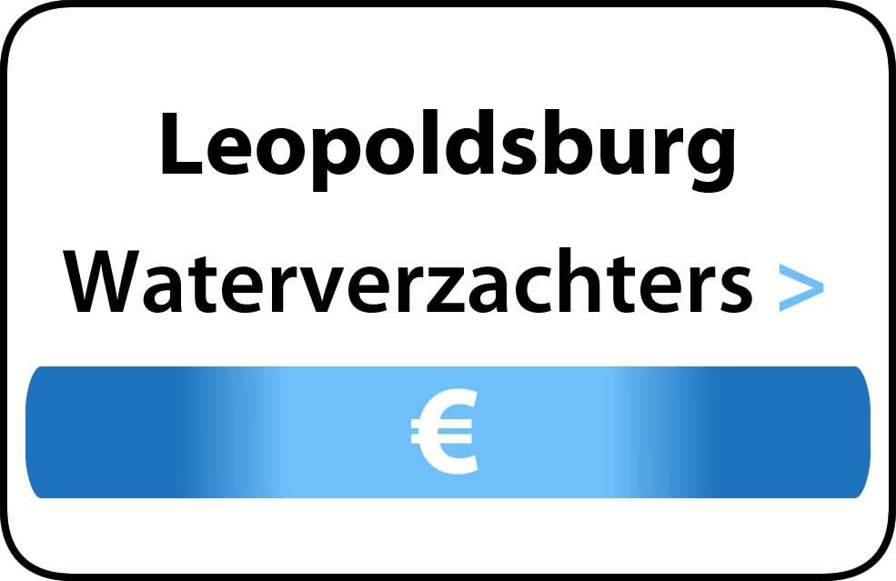 Waterverzachter in de buurt van Leopoldsburg