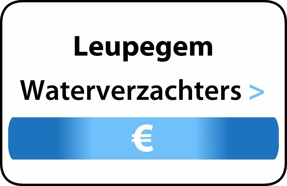 Waterverzachter in de buurt van Leupegem