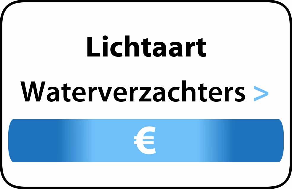 Waterverzachter in de buurt van Lichtaart