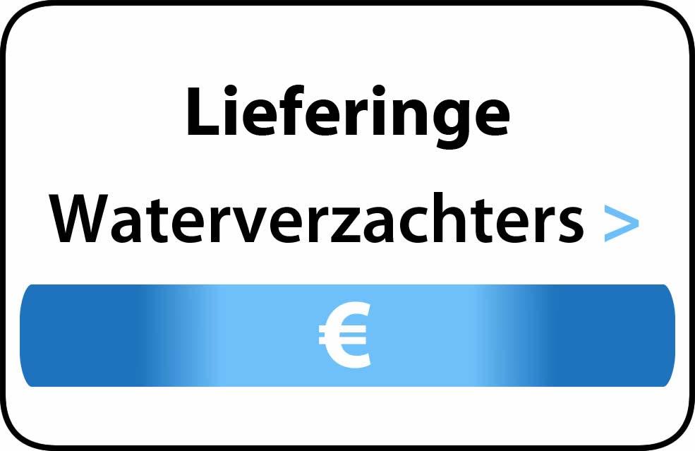 Waterverzachter in de buurt van Lieferinge