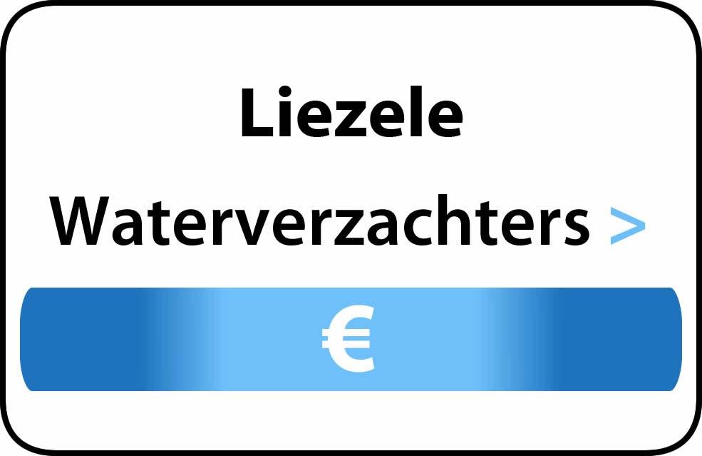 Waterverzachter in de buurt van Liezele