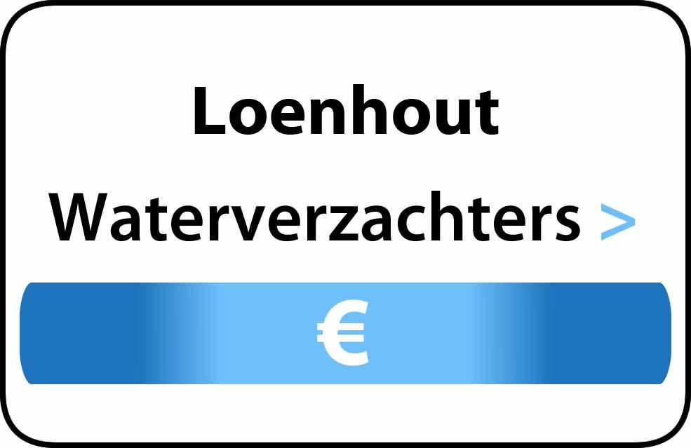 Waterverzachter in de buurt van Loenhout