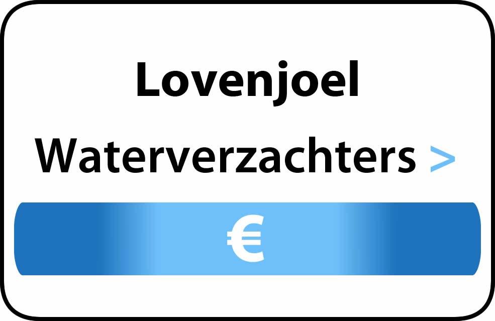 Waterverzachter in de buurt van Lovenjoel