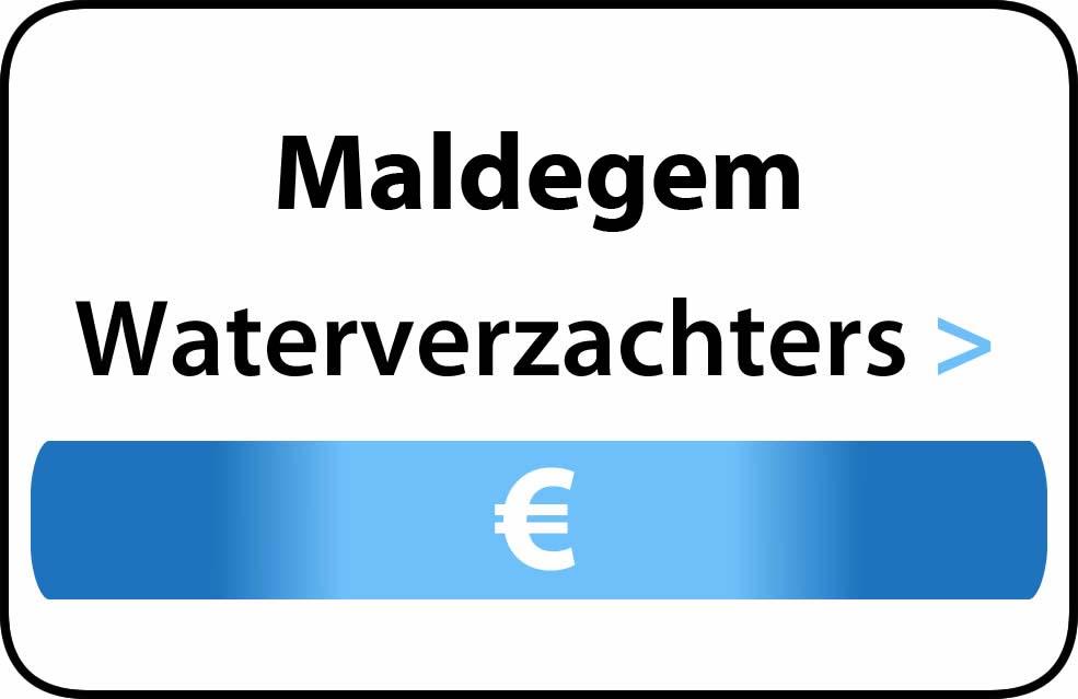 Waterverzachter in de buurt van Maldegem