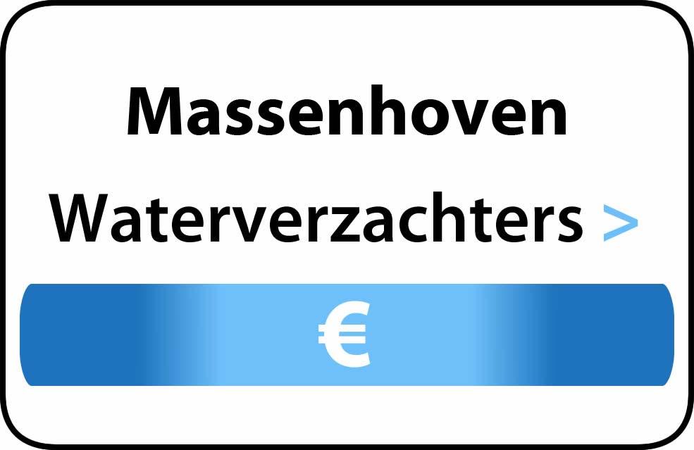 Waterverzachter in de buurt van Massenhoven