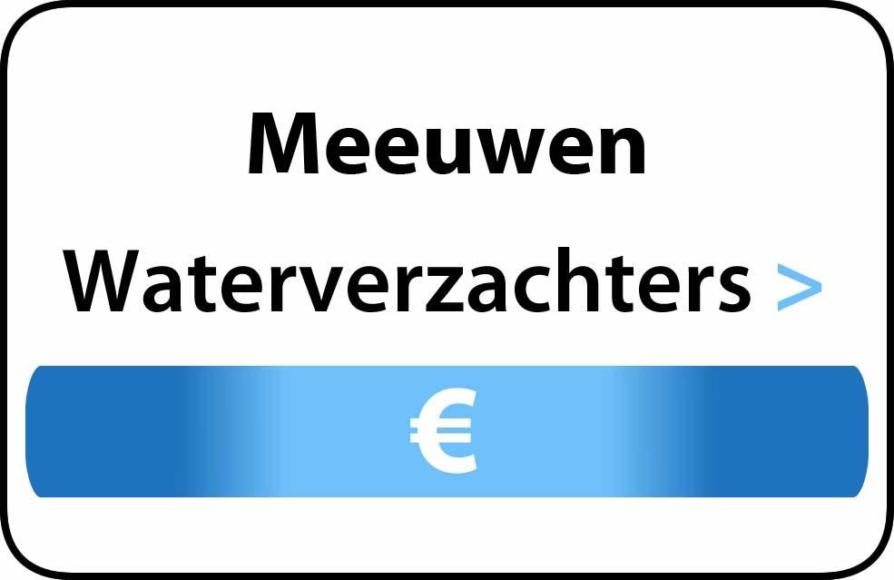 Waterverzachter in de buurt van Meeuwen