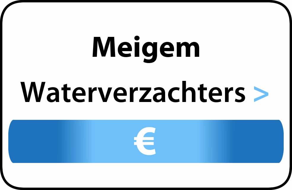 Waterverzachter in de buurt van Meigem