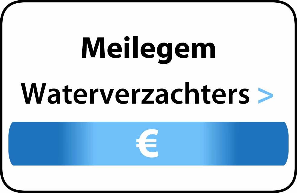 Waterverzachter in de buurt van Meilegem