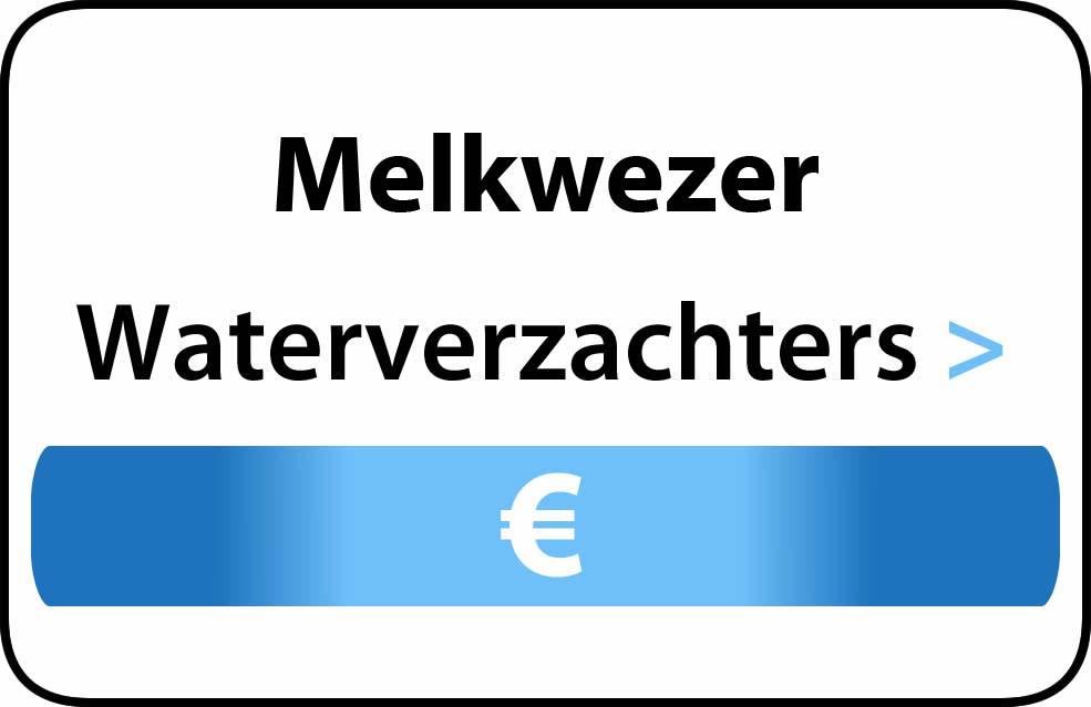 Waterverzachter in de buurt van Melkwezer